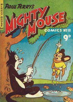 AusReprints: Paul Terry's Mighty Mouse Comics #