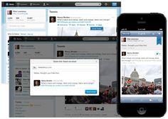 트위터, 이메일 공유 기능 추가... 검색도 강화 - IT World Korea