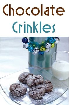 Chocolate Crinkles Recipe - need to substitute GF flour