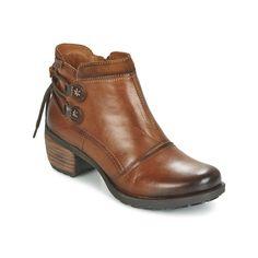 Pikolinos LE MANS 838 Conhaque - Entrega gratuita com a Spartoo.pt ! - Sapatos Botas baixas Mulher 106,40 €