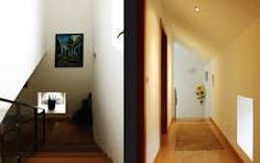 Pasillo, hall y escaleras de estilo  por EVA | evolutionary architecture