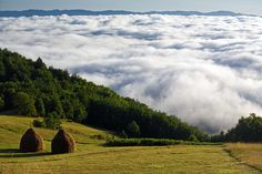 sea of clouds - near Mitrovac, Serbia