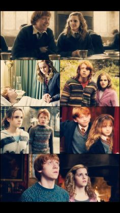 Ron and Hermione Harry Potter Ron And Hermione, Harry Potter Disney, Harry Potter Fan Art, Harry Potter World, Harry Potter Memes, Hermione Granger, Potter Facts, Saga, Harry Otter
