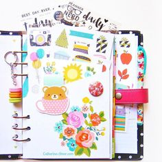 A bit obsessed with my Carpe Diem planner and the lovely things that go with it.  by catherina.amor