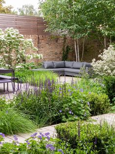 Garden Design London, Back Garden Design, London Garden, Urban Garden Design, Contemporary Garden Design, Landscape Design, Back Gardens, Outdoor Gardens, Small Front Gardens