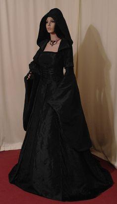 mittelalterliche Renaissance Hochzeit Gotthic Handfasting Kleid Hobbit benutzerdefinierte gemacht