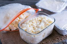 Can You Freeze Ricotta Cheese Without Ruining It? Food Hacks, Food Tips, Ricotta, Frozen, Health Fitness, Cheese, Canning, Food Stamps, Home Canning