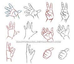 Hand Study by xiaoyugaara.deviantart.com on @deviantART
