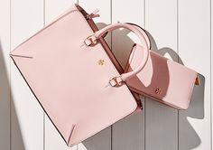 Matching bag and zip around wallet.  Love.
