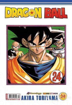 LIGA HQ - COMIC SHOP Dragon Ball #24 - Dragon Ball - Mangá PARA OS NOSSOS HERÓIS NÃO HÁ DISTÂNCIA!!!