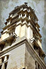 Featured Art - City Hall Tall  by Alice Gipson