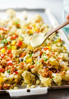 If you think that cauliflower couldn't possibly taste like nachos, you're not alone. That's how I felt when I first ...