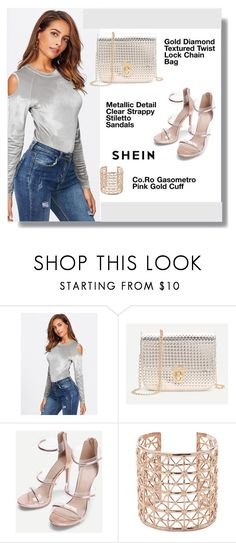 """""""shein"""" by aminkicakloko ❤ liked on Polyvore featuring WithChic and Co.Ro"""