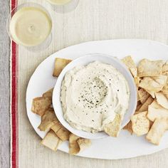 Lemon Goat Cheese Dip Recipe - Country Living
