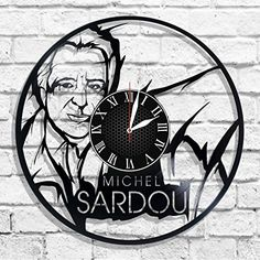 Michel Sardou design wall clock, Michel Sardou wall poste... https://www.amazon.com/dp/B078G68D28/ref=cm_sw_r_pi_dp_U_x_SUKzAb4T44R54