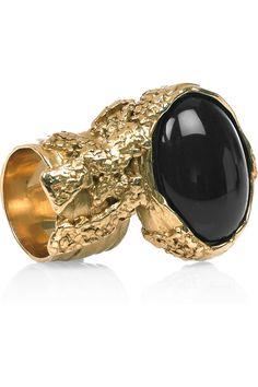 Yves Saint Laurent Arty resin ring $195