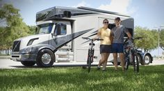"""Volvo Trucks - US couple lives the good life on the road - """"Welcome to M..."""