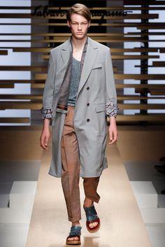 Salvatore Ferragamo Spring 2015 Menswear - Collection - Gallery - Look 1 - Style.com