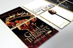 Game of Thrones Posters Cork Coasters Set by OneofaKindbySSD
