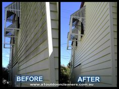 This is one of many of our Before and After photos Blinds, Curtains, Photos, Outdoor, Home, Decor, Outdoors, Pictures, Decoration