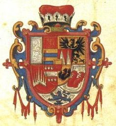 Coat of Arms of Karel Liechtenstein Goldwork, Sorority And Fraternity, Family Crest, Crests, Modern Country, Luxembourg, Coat Of Arms, Slovenia, Ribbons