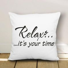 18*18 inches Quote Funny Pillow