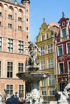 #gdansk Neptune's #Fountain / Fontanna Naptuna