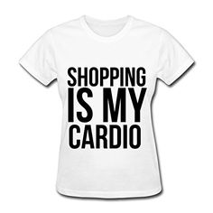 News Spreadshirt Women's Shopping is my cardio. T-Shirt, White, XL   buy now     $21.49 Shopping is my cardio. For all shopaholics.This relaxed fit classic offers plenty of room and is ideal for most body types. Pe... http://showbizlikes.com/spreadshirt-womens-shopping-is-my-cardio-t-shirt-white-xl/