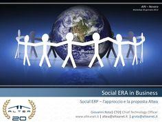 Social ERP - Un modo più efficace per supportare i processi aziendali.