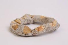 Crochet Art, Contemporary Jewellery, Textile Art, Jewelry Art, Sculptures, Weaving, Delicate, Spirit, Textiles