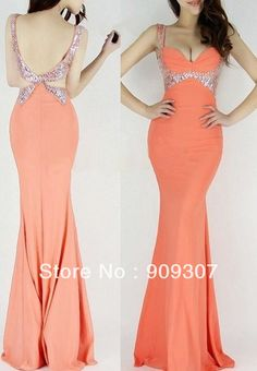 dresses new fashion 2013 Sexy Luxury Sparkle Sequins Backless V Neck Mermaid Ballgown Prom Cocktail Dress women $46.97 http://www.aliexpress.com/store/group/Sexy-Ladies-s-Party-Dresses/604380_250175585/2.html?categoryId=100005792=price_desc