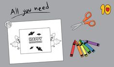 Printable Bat Card for Halloween Halloween Printable, Halloween Cards, Printable Cards, Printables, Christmas Unicorn, Halloween Spider, Free Activities, Gain, Toddler Arts And Crafts