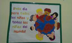 Mural derechos del niño