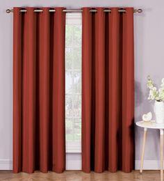 Emma Microfiber Room Darkening Extra Wide Grommet Curtain Panels