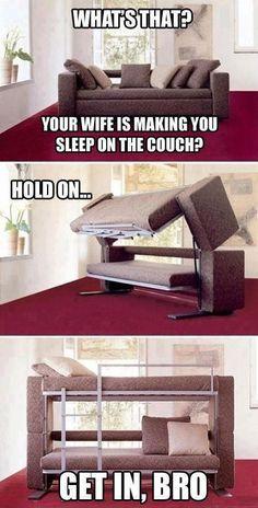 Grown up bunk bed