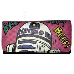 Loungefly Star Wars R2-D2 Comic Wallet - Radar Toys  - 1