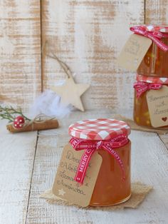 Pumpkin and Orange Jam for Christmas Orange Jam, Biscuits, Fruit Drinks, Portuguese Recipes, Christmas 2017, Drinking Tea, Gelato, Little Gifts, My Recipes