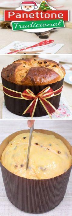 Panettone tradicional, Pan de Pascua o Pan dulce Recetas de Navidad By Quiero Cupcakes. #panettone #panetone #pandulce #paneton #navideño #navidad #navideña #merrychristmas #postres #cheesecake #cakes #pan #panfrances #panes #pantone #pan #recetas #recipe #casero #torta #tartas #pastel #nestlecocina #bizcocho #bizcochuelo #tasty #cocina #chocolate Si te gusta dinos HOLA y dale a Me Gusta MIREN...