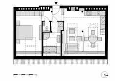 Despite the limited space, architect Dalibor Hlavacek effectively designed a spacious-looking two storey attic loft. The lower level has a living room, kitchen, bedroom and bathroom. While occupyin...