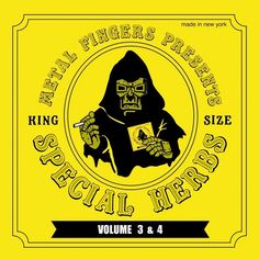 """MF Doom - Special Herbs Volume 3 And 4 on Limited Edition 2LP + 7"""""""