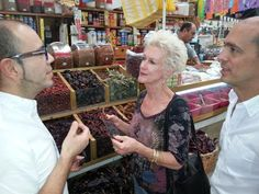 shopping for all the right ingredients!!! Casa Jacaranda Cooking class and Market Tour in Mexico City.