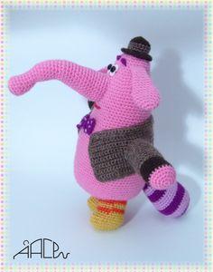 Super Knitting Patterns Free Toys Disney Inside Out Ideas Diy Crochet Toys, Diy Crafts Knitting, Loom Knitting Projects, Crochet Toys Patterns, Stuffed Toys Patterns, Crochet Dolls, Crochet Baby, Knitting Toys, Bing Bong