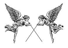 Kritzelei Tattoo, Tattoo Hals, Doodle Tattoo, Wicca Tattoo, Torso Tattoos, Mini Tattoos, Body Art Tattoos, Sleeve Tattoos, Tattoo Design Drawings