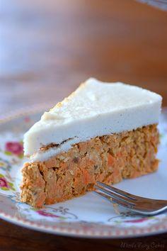 Mimi's Fairy Cakes: Rawrrr! Carrot Cake – Rohe Karottentorte