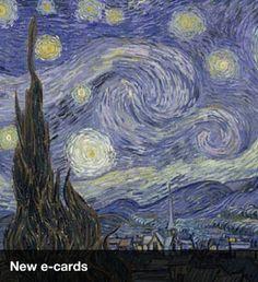 Vincent van Gogh  (Dutch, 1853–1890)  The Starry Night. Saint Rémy, June 1889