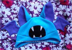 Zubat Hat  Some folks think you're a little batty? Well, dress up like your favorite bat-like,echolocationskilled Pokemon.  Zubat hat($27) available fromherarlovesyou  (via sogeekchic)
