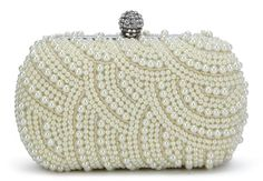 Scarleton Beaded Square Evening Clutch H336602 - Off White Scarleton, To SEE or BUY Just CLICK on AMAZON right HERE http://www.amazon.com/dp/B00FWG1WPO/ref=cm_sw_r_pi_dp_U9wetb1WFFZNB2D3