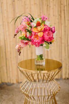 Boho Caribbean Shoot   Flower Arrangement