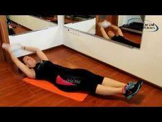 Domáci tréning brucha a bokov od Lucky Žuffovej Fitness, Youtube, Keep Fit, Health Fitness, Youtube Movies, Rogue Fitness, Gymnastics