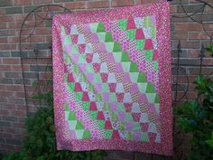Tumbler Quilt made for Accuquilt giveaway